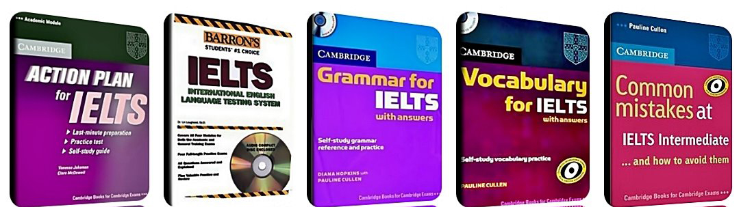 IELTS books to improve your English
